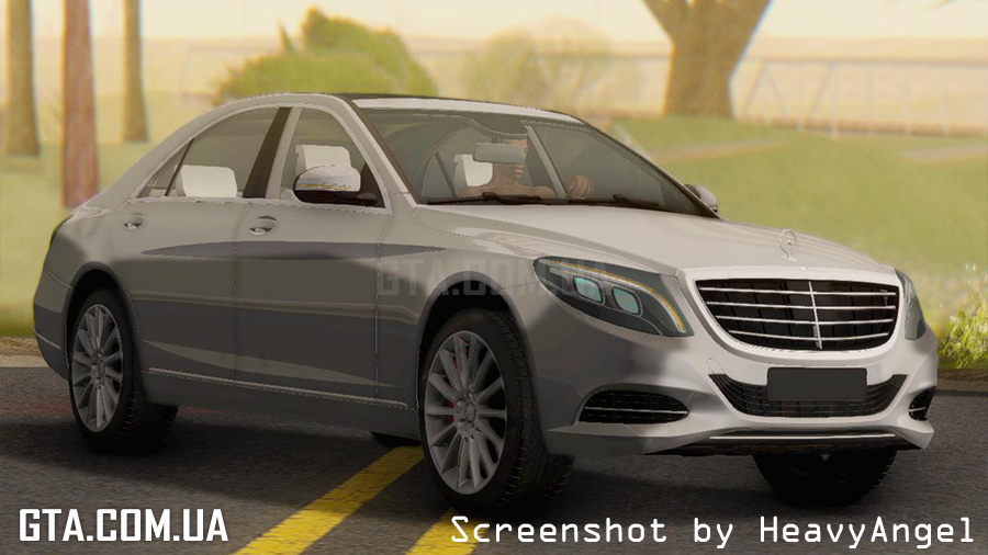 Mercedes benz s350 w222 2014 gta san andreas for Mercedes benz s350 2014