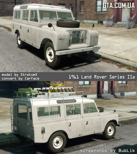 1960 Land Rover Series IIa LWB Wagon