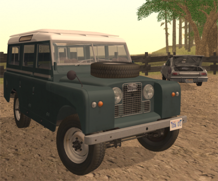 Land Rover Series IIa LWB Wagon