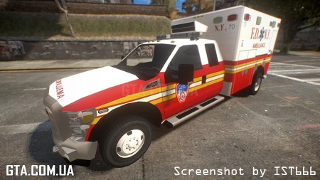 Ford F350 FDNY Ambulance