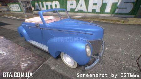 Ford DeLuxe Convertible 1939 (L.A. Noire)