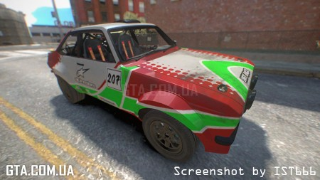 Ford Escort MK2 Rally Version (Dirt 2)