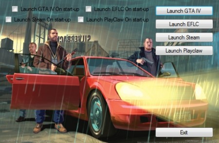 GTA IV Launcher v2.0