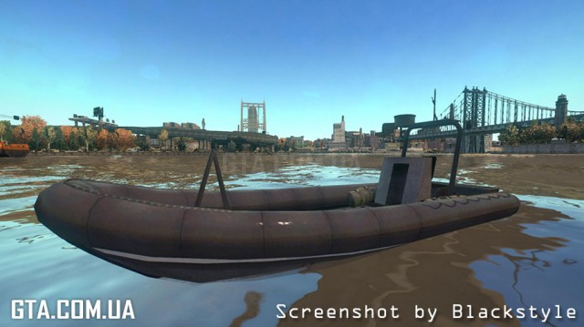Rigid Inflatable Boat (Battlefield 2)