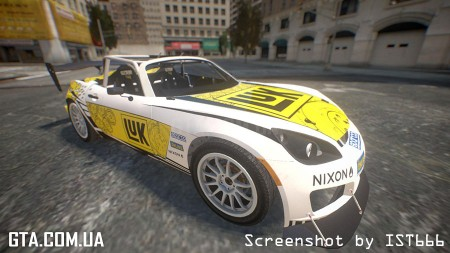Saturn Sky Gymkhana (DiRT Showdown)