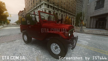 Toyota FJ40 Land Cruiser Soft top v1.3