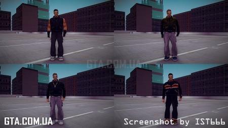 Мод Пак скинов для GTA San Andreas