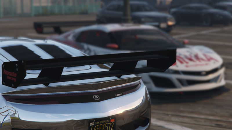 Acura NSX Badges For Jester & Jester2 для GTA V - Скриншот 3