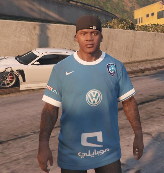 Al-Hilal Football Club T-Shirt для GTA V - Скриншот 1