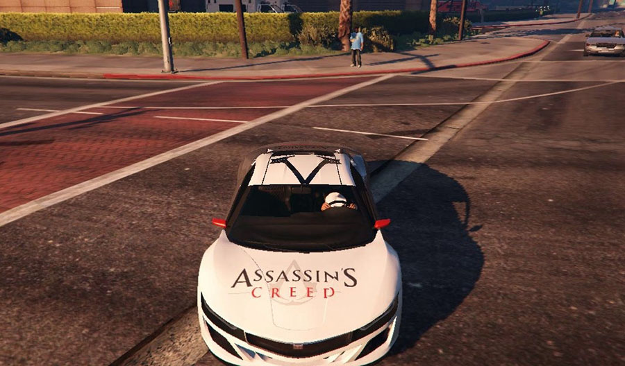 Assassins Creed Jester для GTA V - Скриншот 2
