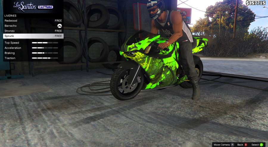 Bati Custom Paintjobs для GTA V - Скриншот 2