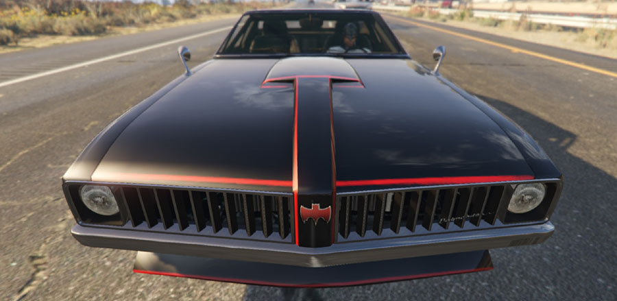 1966 Batmobile Homage - BS Stallion v1.0 для GTA V - Скриншот 2
