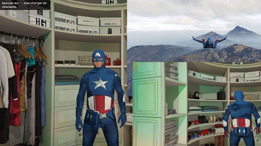 Captain America: First Avenger для GTA V - Скриншот 1