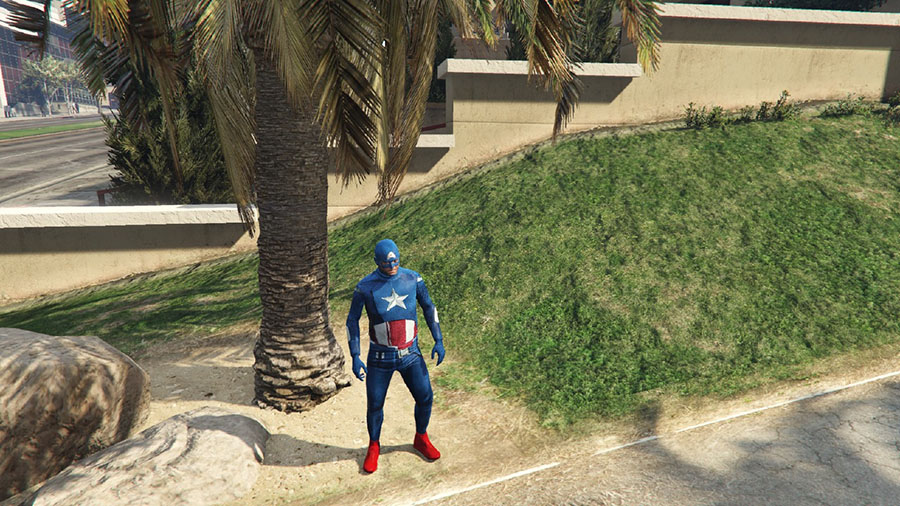 Captain America: First Avenger для GTA V - Скриншот 3
