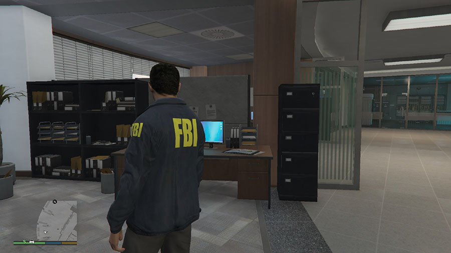 Classic FBI outfit(San Andreas Style) v0.3 для GTA V - Скриншот 1