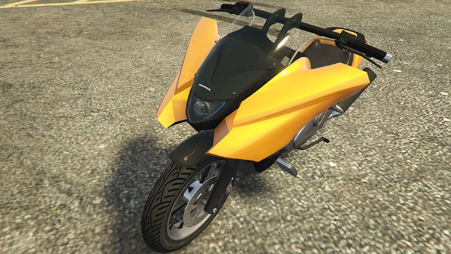 Dinka Vindicator Honda NM4 Vultus для GTA V - Скриншот 2