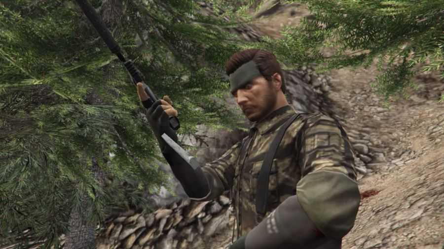 Big Boss (Naked Snake) v1.0 для GTA V - Скриншот 3