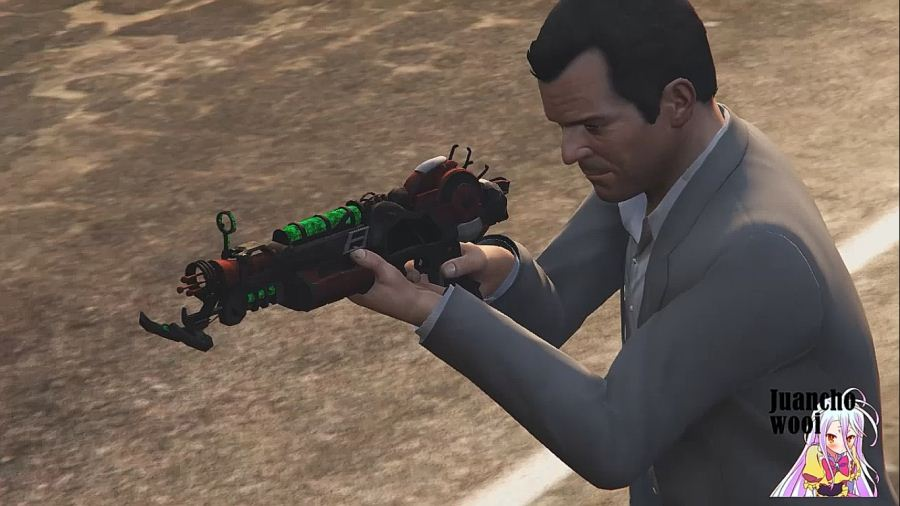 Ray Gun Mark II (Call of Duty: Black Ops II) для GTA V - Скриншот 1