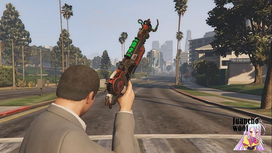 Ray Gun Mark II (Call of Duty: Black Ops II) для GTA V - Скриншот 2