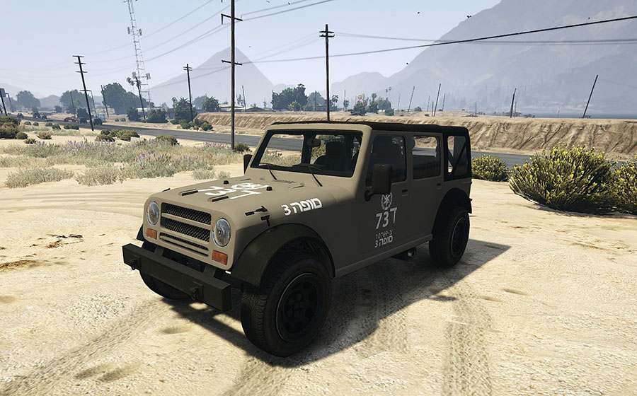 IDF Army Color Texture Pack для GTA V - Скриншот 2