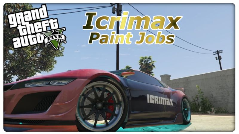 Icrimax Modded Car для GTA V - Скриншот 1