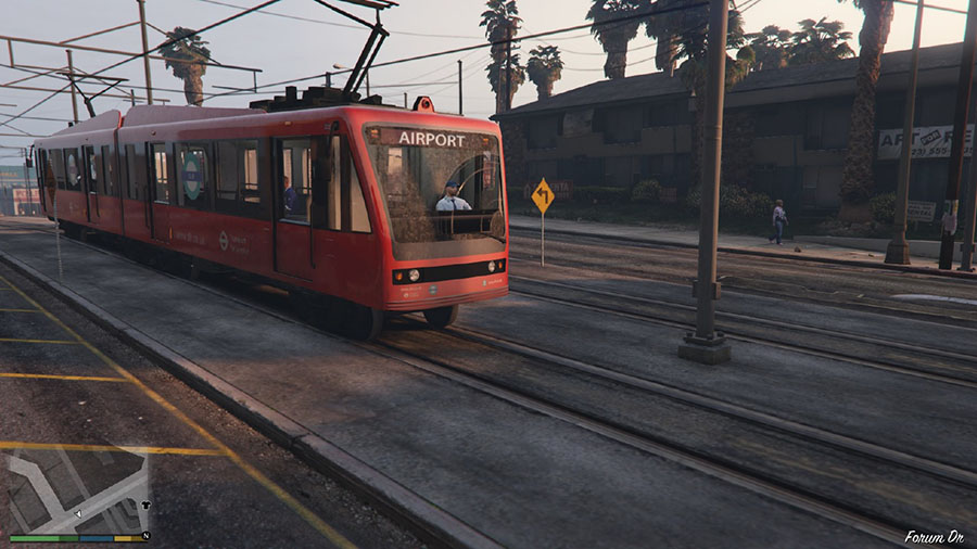 London Transport Pack v0.2 (beta) для GTA V - Скриншот 1