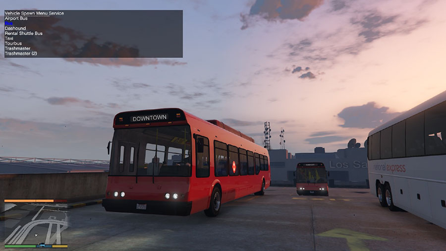 London Transport Pack v0.2 (beta) для GTA V - Скриншот 3