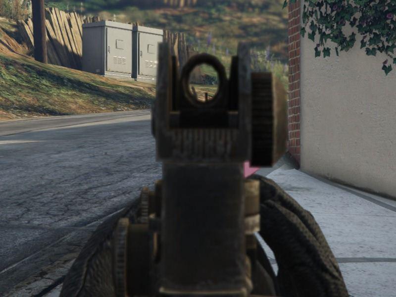 M4A1 для GTA V - Скриншот 3