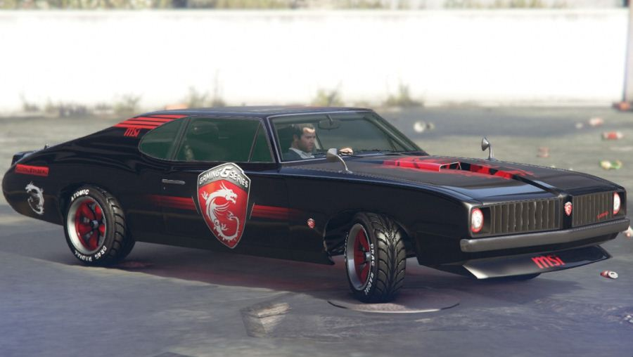 MSI - Stallion Dragon Edition v1.1 для GTA V - Скриншот 1