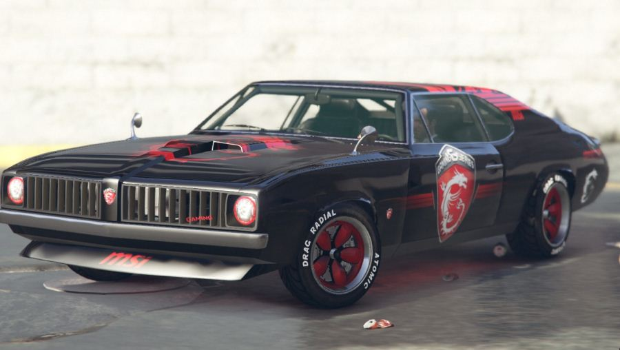MSI - Stallion Dragon Edition v1.1 для GTA V - Скриншот 2