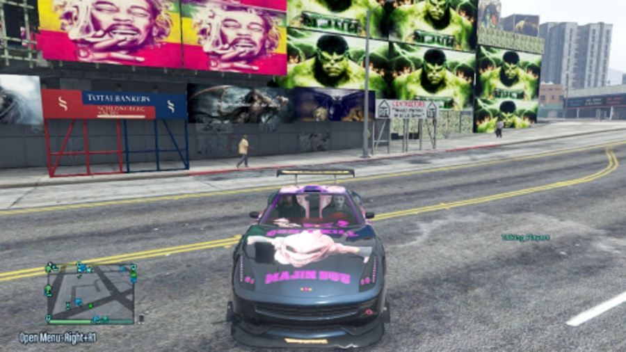 Majin Buu Massacro Paintjob для GTA V - Скриншот 1