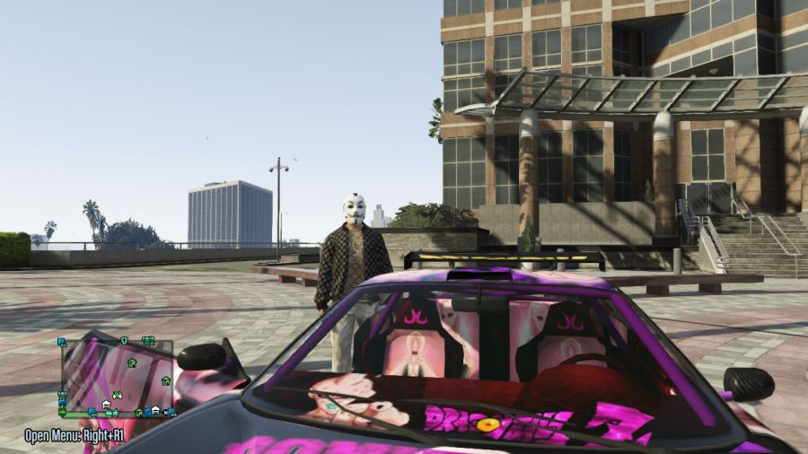 Majin Buu Massacro Paintjob для GTA V - Скриншот 3