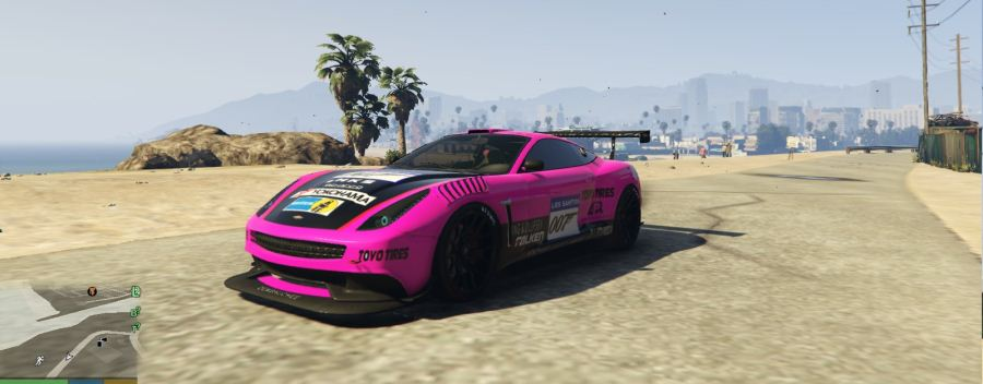 Vantage V12 GT3 livery for Massacro v1.5 для GTA V - Скриншот 2
