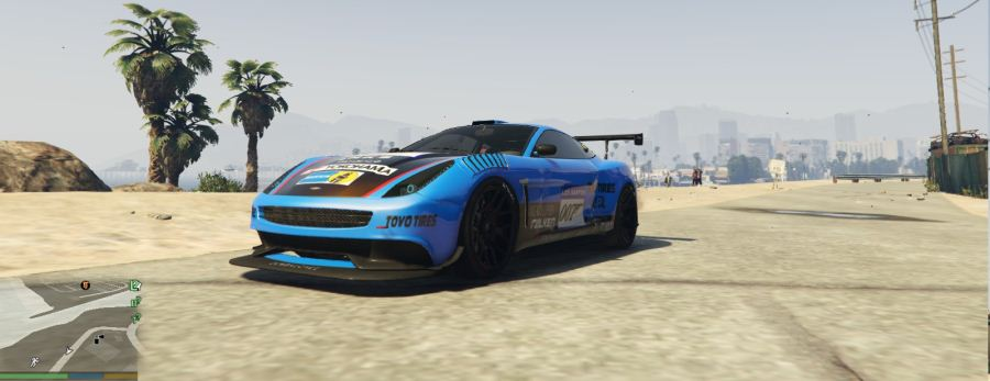 Vantage V12 GT3 livery for Massacro v1.5 для GTA V - Скриншот 3