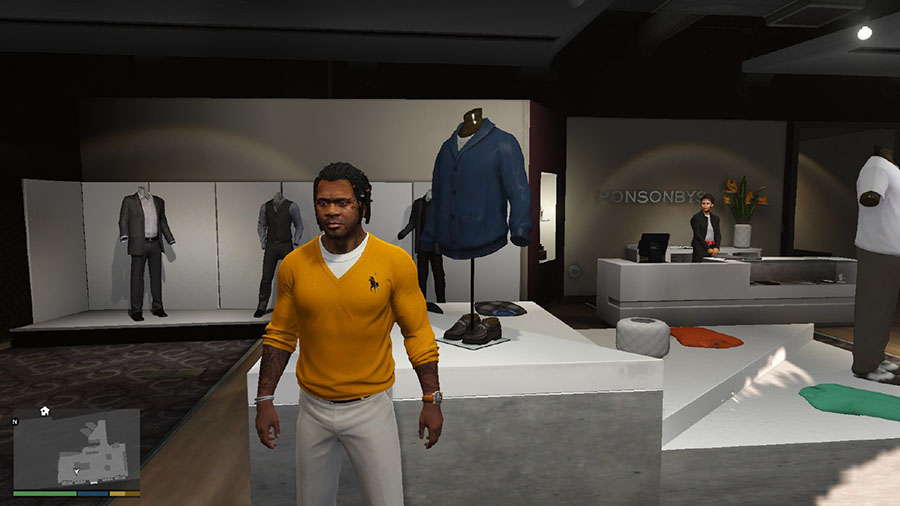 Modern Day Swag for Franklin Shirt Pack для GTA V - Скриншот 1