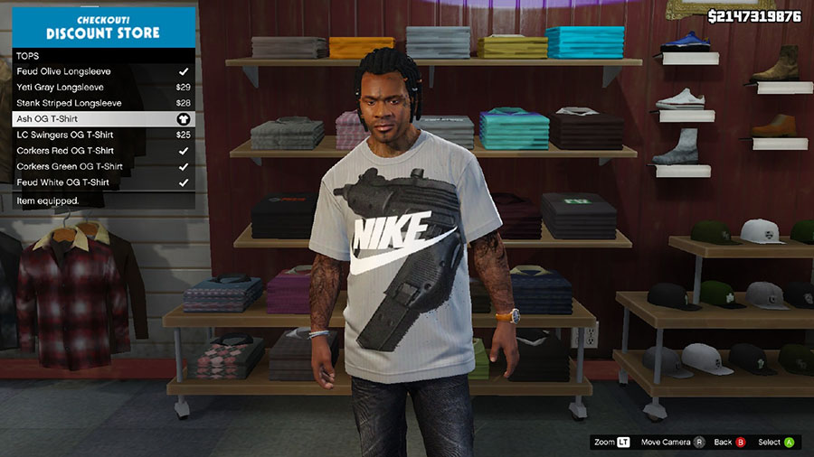 Modern Day Swag for Franklin Shirt Pack для GTA V - Скриншот 3