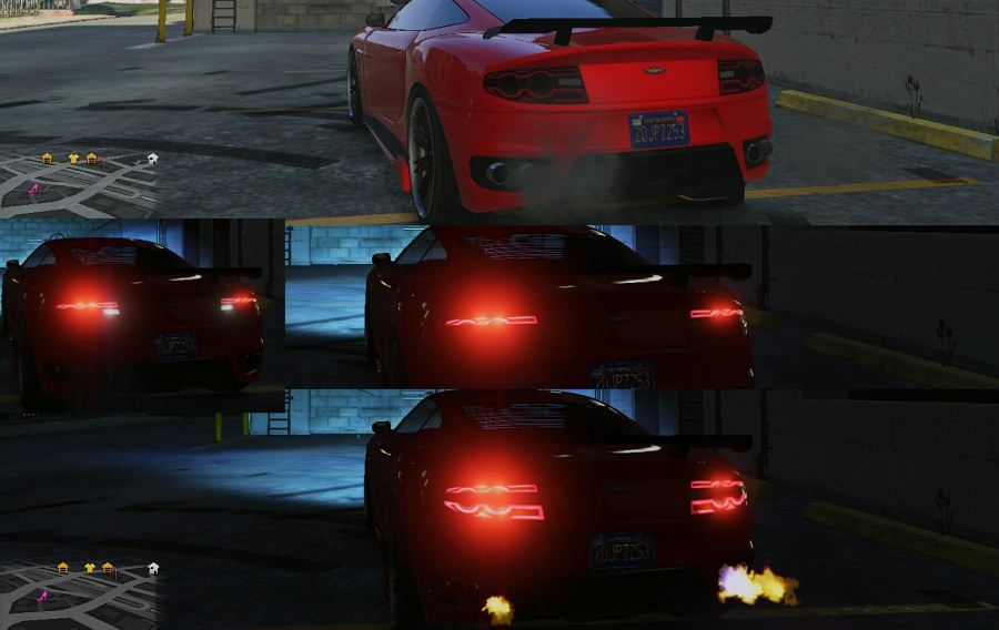 Modern Tail Lights Pack v1.2 для GTA V - Скриншот 1