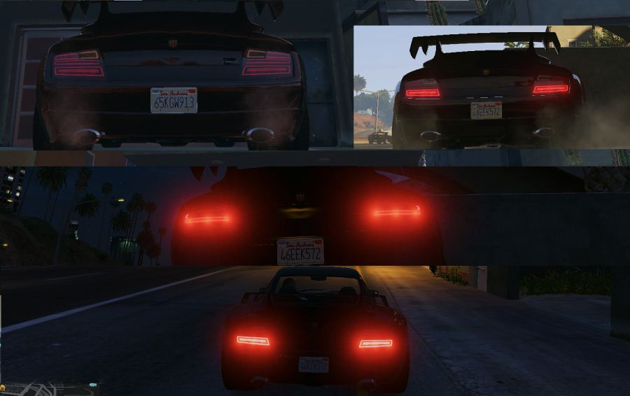 Modern Tail Lights Pack v1.2 для GTA V - Скриншот 3