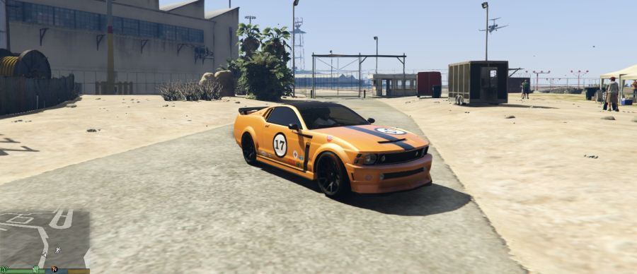 Mustang Trans-Am Race Car Livery for Dominator v1.4 для GTA V - Скриншот 2