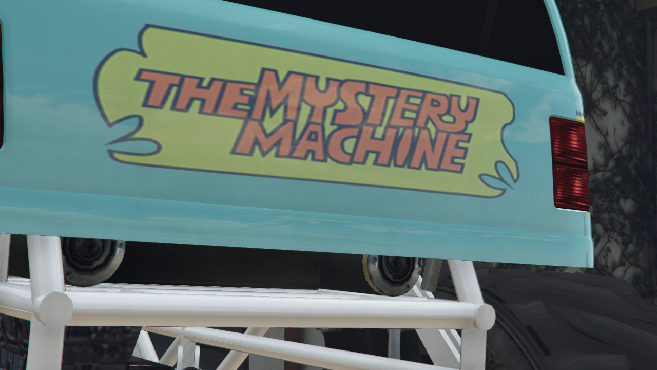 Mystery Machine Monster Truck From Scooby Doo для GTA V - Скриншот 2