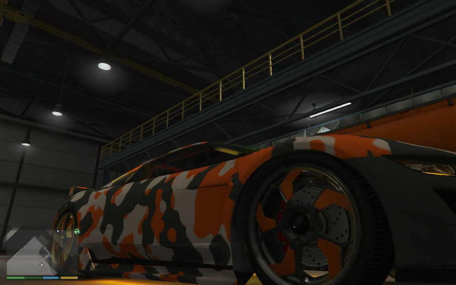 Orange Jester Camo (HD) v5.6.1 для GTA V - Скриншот 2