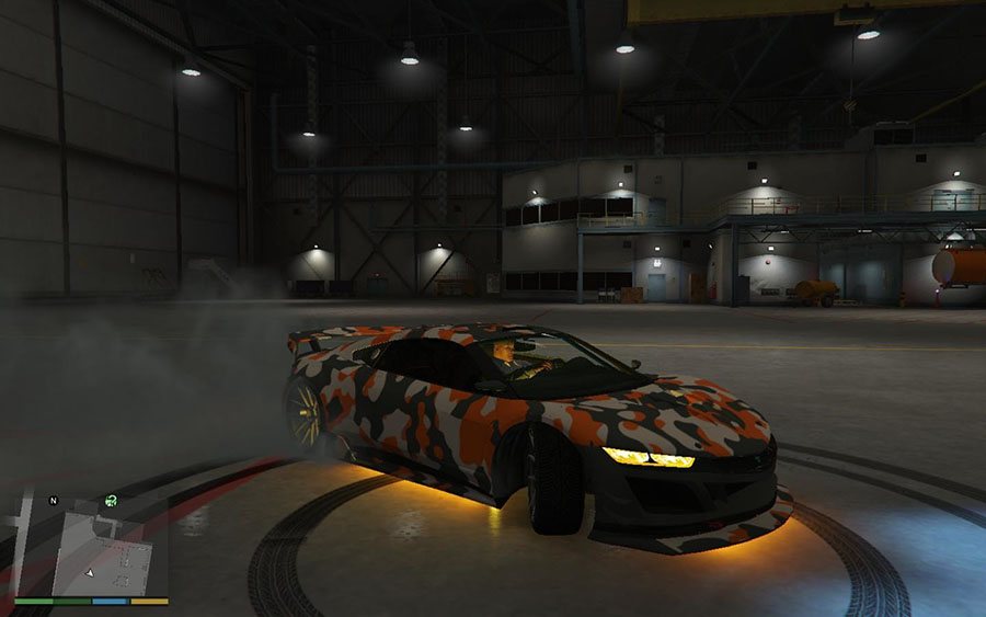 Orange Jester Camo (HD) v5.6.1 для GTA V - Скриншот 3