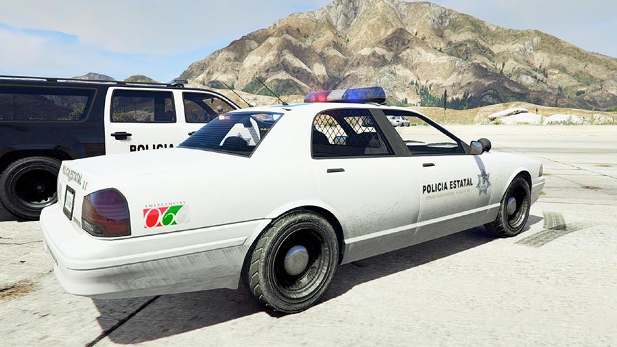 Mexico State Police Texture v2.1 для GTA V - Скриншот 2