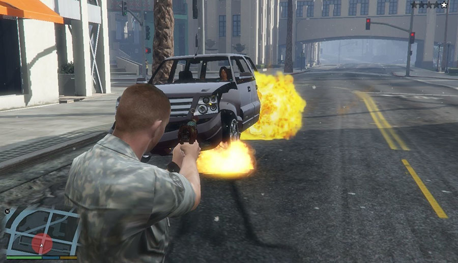 Ray Gun (Call of Duty: World at War) для GTA V - Скриншот 3