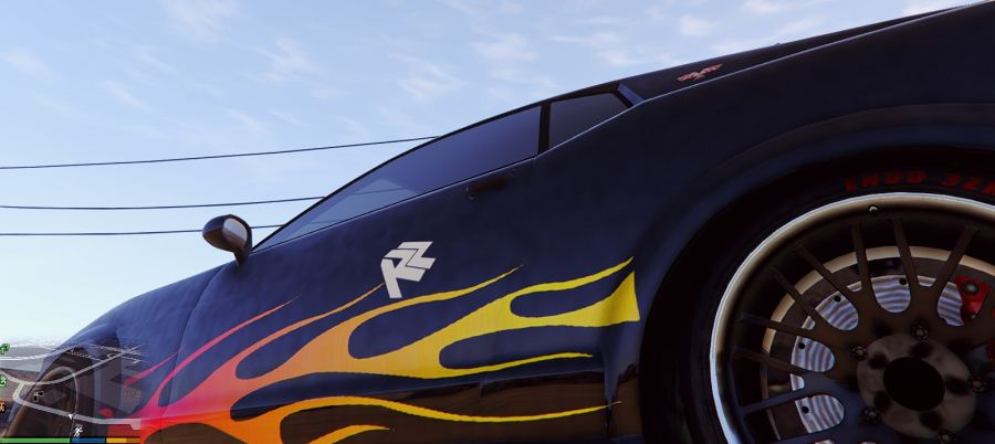Razor's Mustang livery from NFS for Dominator v1.2 для GTA V - Скриншот 2