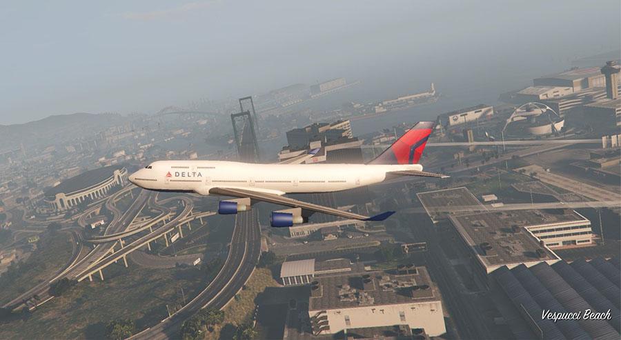 Real Airline Textures v0.2 для GTA V - Скриншот 3