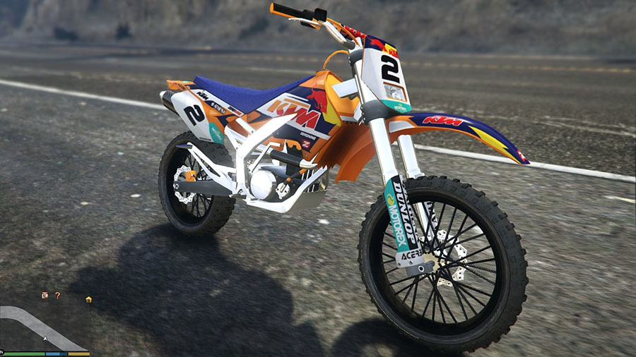 Sanchez KTM Rockstar and Factory Kit v0.2 для GTA V - Скриншот 3