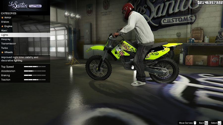 Sanchez KX 85 Rockstar Sticker Kit для GTA V - Скриншот 2