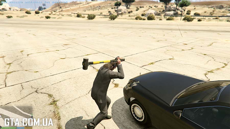 Sledge Hammer - Real Damage для GTA V - Скриншот 2