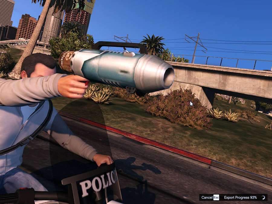 Spudgun From Bully Scholarship Edition для GTA V - Скриншот 1